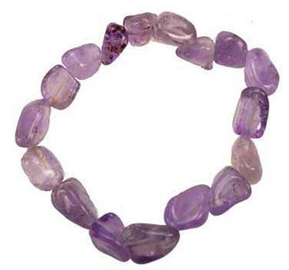Tumbled Amethyst bracelet