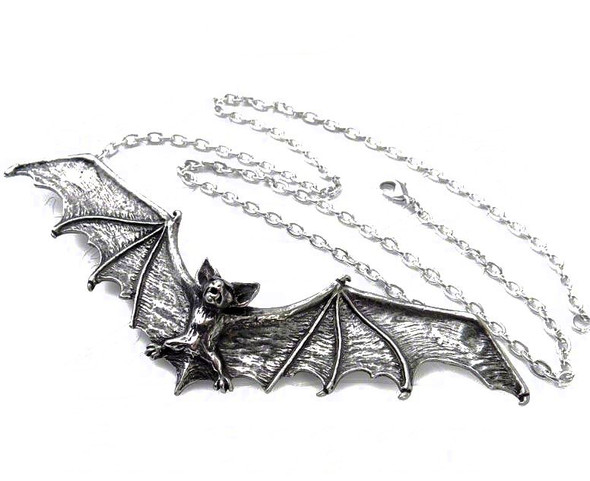 Gothic Bat Necklace