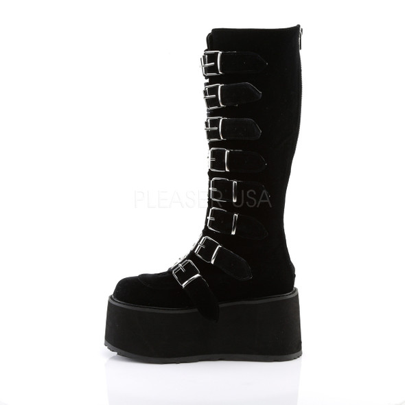 Damned Velvet Boots