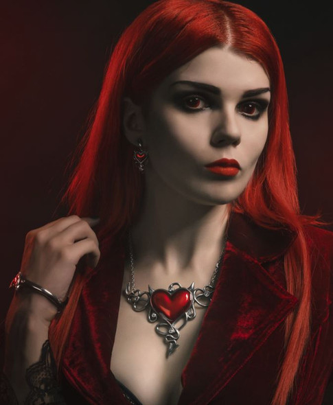 Devil Heart Généreux Necklace