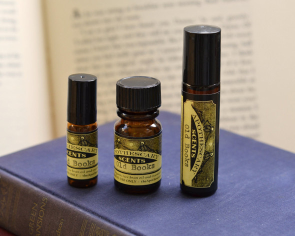 Old Books Perfume Oil