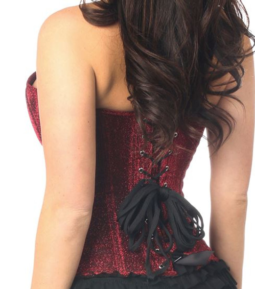Red Sky Sparkle Corset