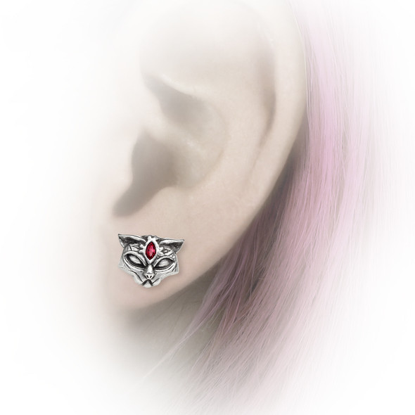 Sacred Cat Earrings