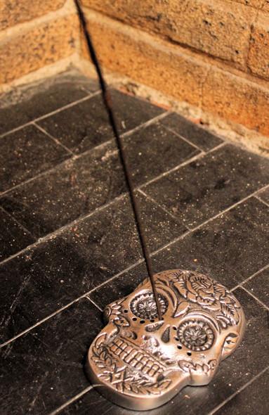 Day of the Dead incense burner