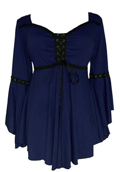 Midnight Ophelia Top
