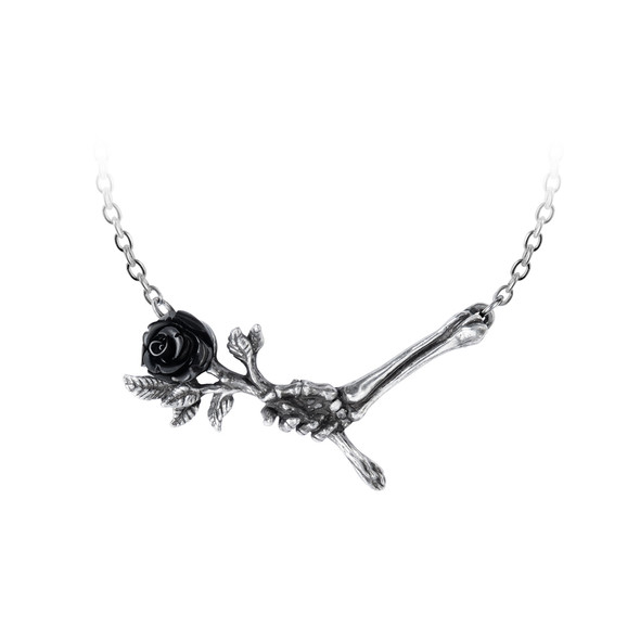 Love never dies necklace by alchemy gothic
