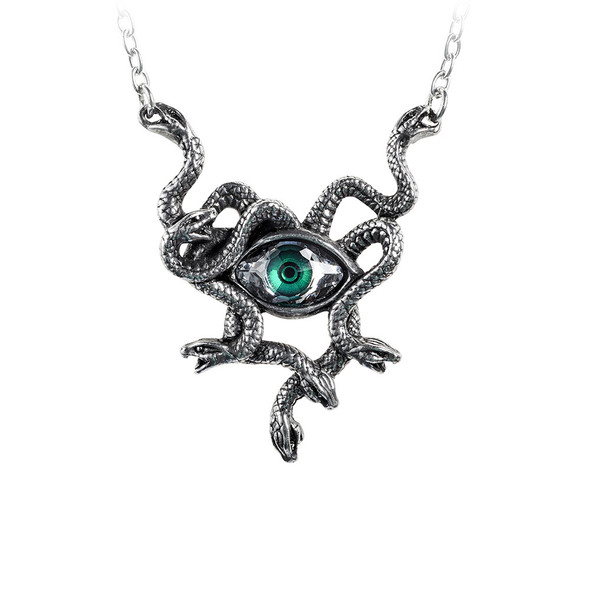 Medusa Eye necklace