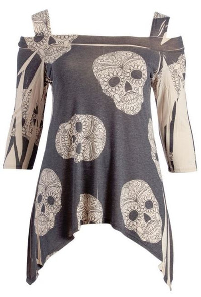 Cold Calavera Top