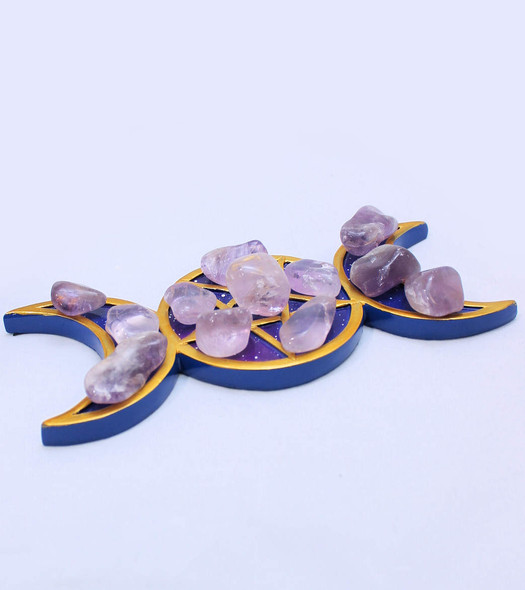 Tumbled Amethyst Crystals- one pound