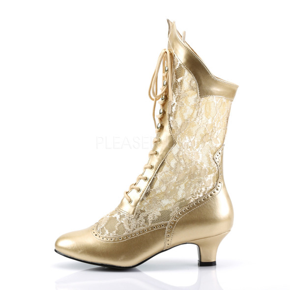 Gilded Age Victorian Lace Boots