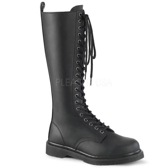 knee hi combat boots