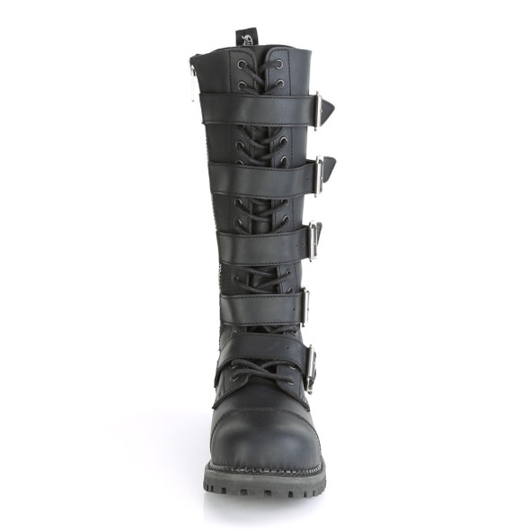 Five Buckle Riot Boots