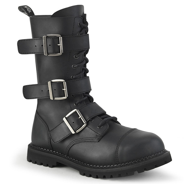 Three Buckle Riot Boots