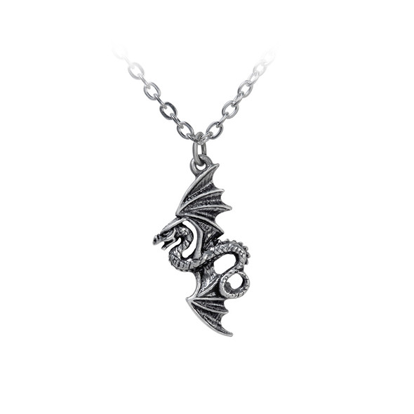 Flight of the Airus Dragon necklace