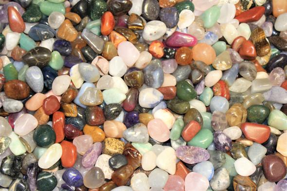 1 lb Tumbled Gemstones Mystery Bag