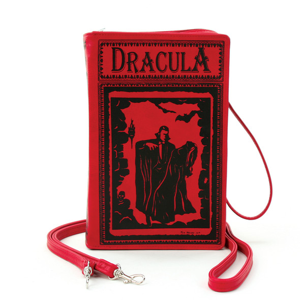 Red Dracula Book style Purse