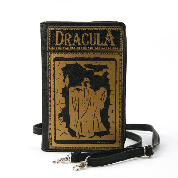 Black Dracula Book style Purse