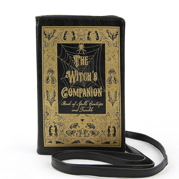 The Witches Companion Book style Purse