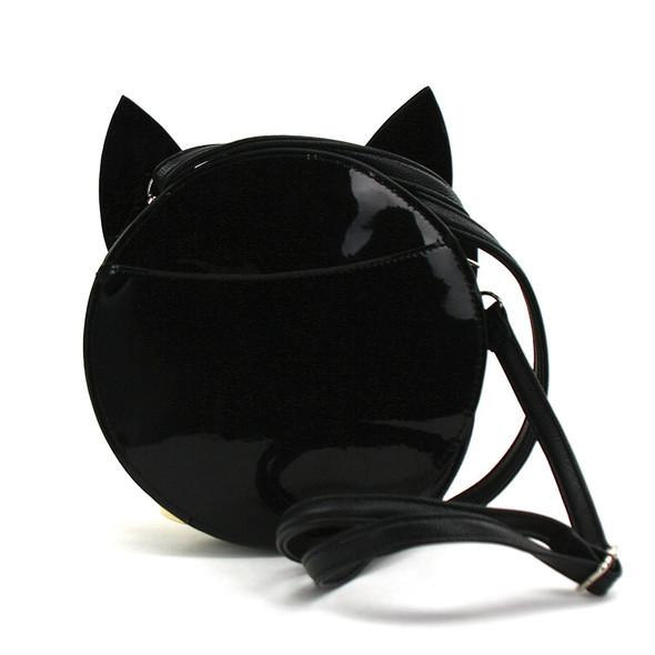 Black Cat Familiar Purse