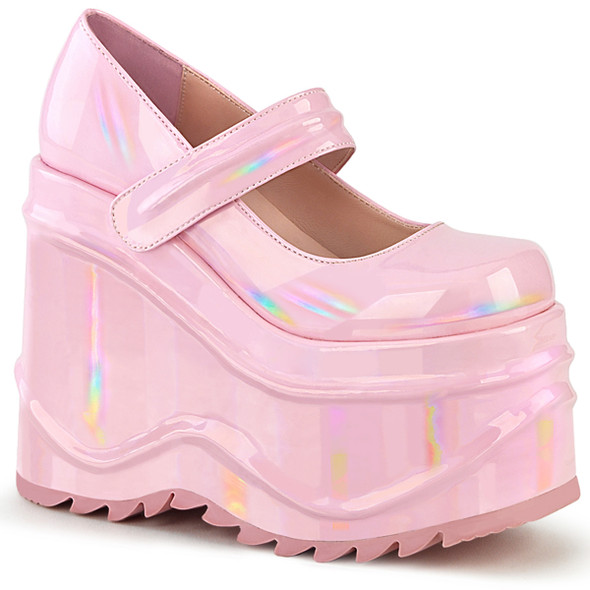 Holo Dolly Platform Mary Janes