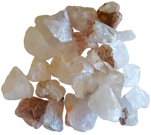 1 pound Raw Quartz stones