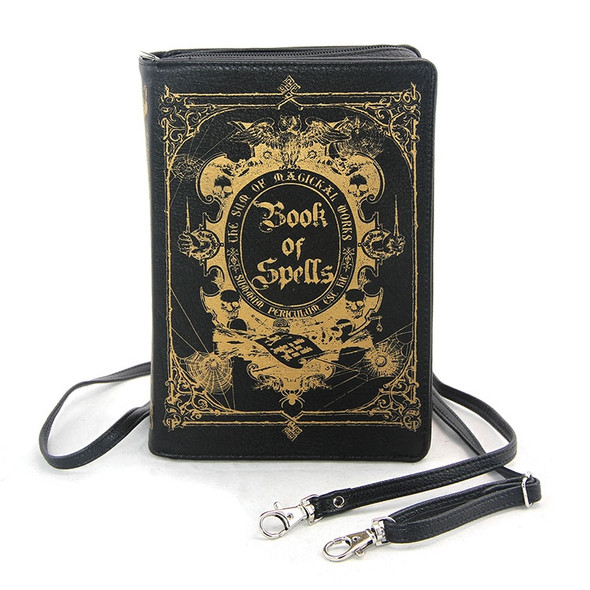 Book of Spells Book style Purse