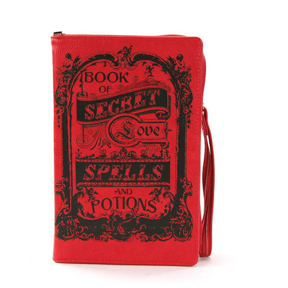 Spells for Love Potions  Book style Purse