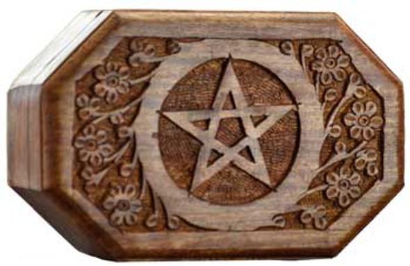 Octagonal Pentagram box
