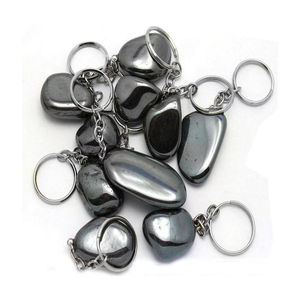 Hematite Keychain