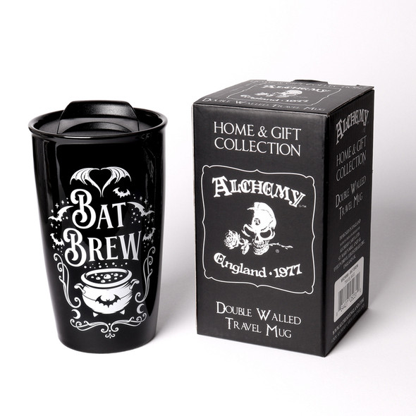 Bat Brew Travel Mug