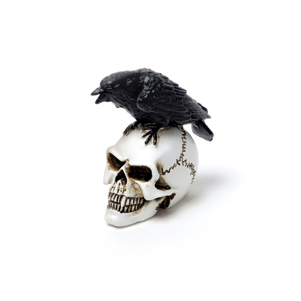 Raven Skull miniature