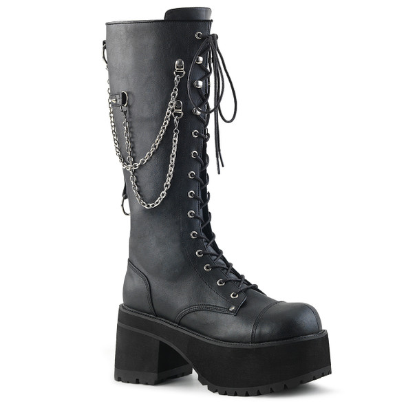 Backtalk Chained Combat Boots