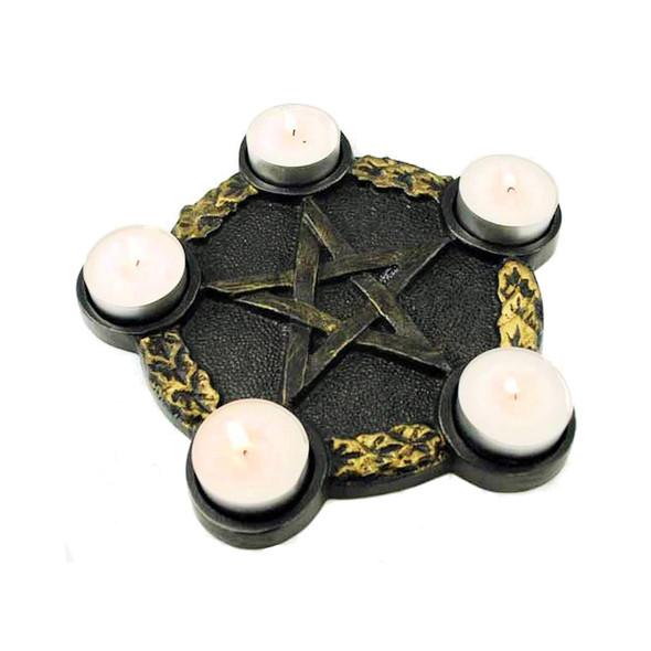 Pentagram Candle Holder