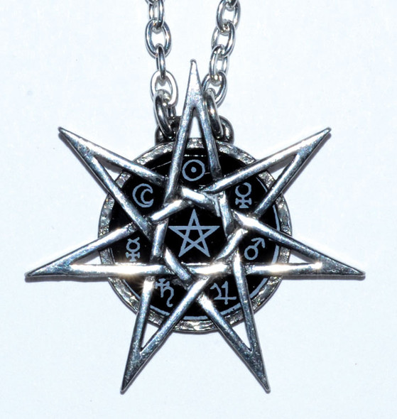 Onyx and Pewter Elven Star