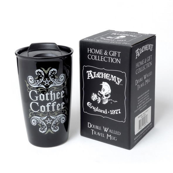 Gothee Coffee Double Walled Travel Mug