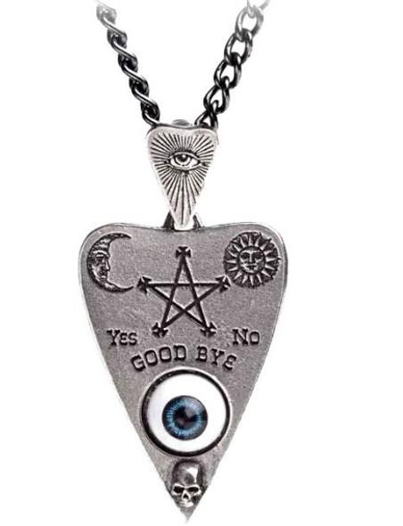 Ouija Planchette Necklace