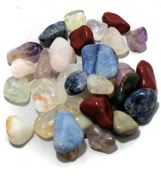 1/2 lb Tumbled Gemstones Mystery Bag