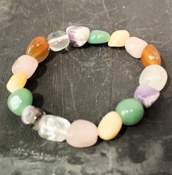 Assorted Gemstones Bracelet