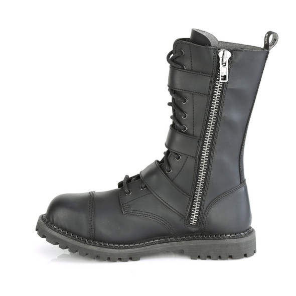 Three Buckle Riot Boots SIZE 7/5