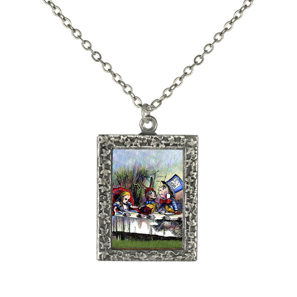 Alice at the Tea party Necklace