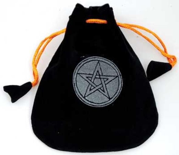 Pentagram Velveteen Bag