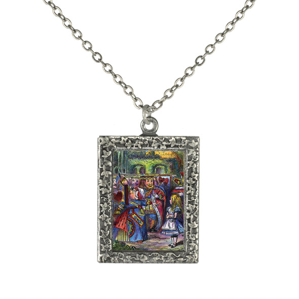 Alice and the Red Queen Necklace