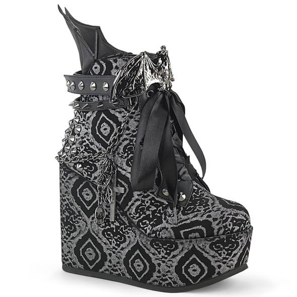 Damask Bat Poison Boots