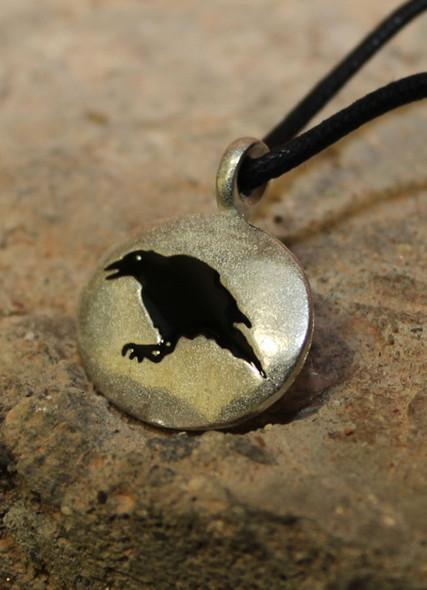 Raven amulet