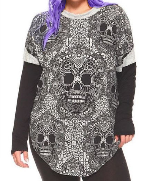 Death in Layers Top