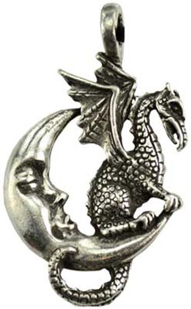 Midnight Dragon necklace