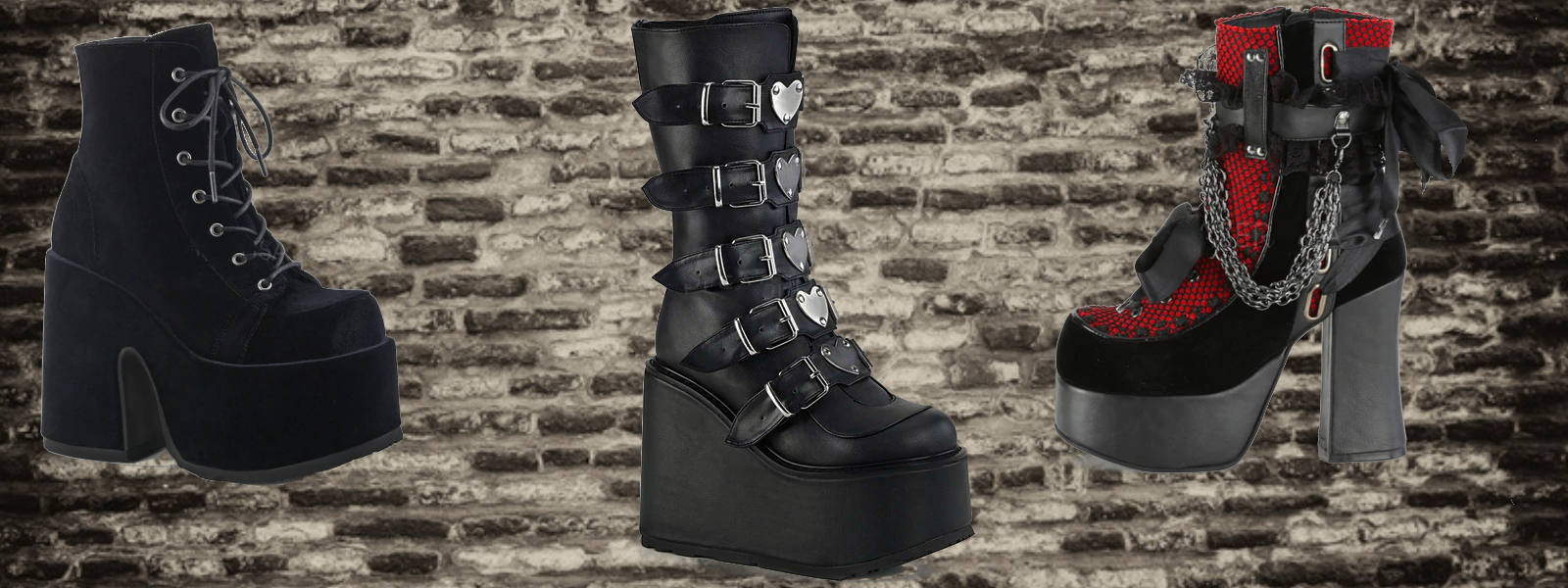 new gothic shoes and boots