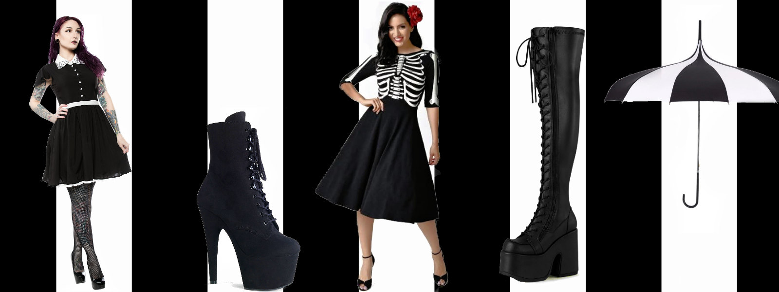 new styles of gothic clothing