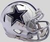 Dallas Cowboys Speed Chrome Mini Football Helmet