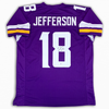 Justin Jefferson Autographed Signed Jersey - Purple - Beckett Authentic